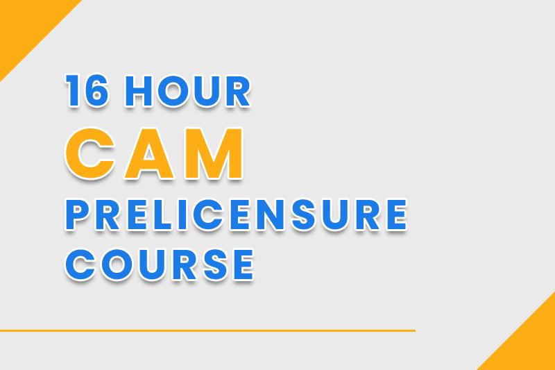 Florida CAM License Course