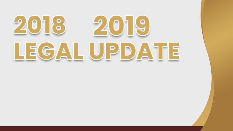 4 Hour Bundle of Legal Updates