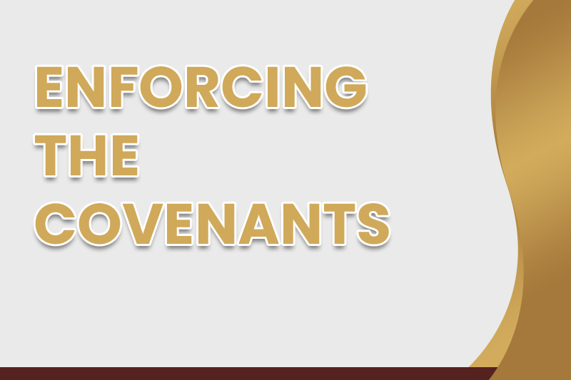 Enforcing the Covenants