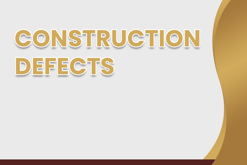 Knowledge of Construction Defects